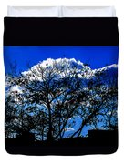 Night Blues Duvet Cover