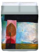 Night Comes Duvet Cover