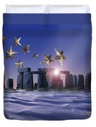 Night Cometh Duvet Cover