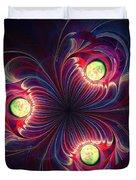 Night Flower Duvet Cover