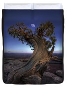 Night Guardian Of The Valley Duvet Cover