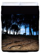 Night In The Forest Duvet Cover