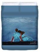 Night Love Duvet Cover