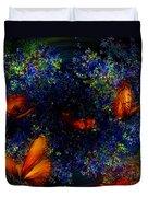 Night Of The Butterflies Duvet Cover