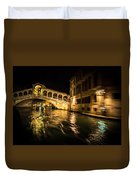 Night On The Grand Canal Duvet Cover