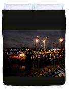 Night Pier Duvet Cover