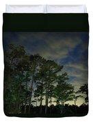 Night Pines Duvet Cover
