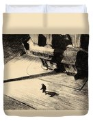 Night Shadows Duvet Cover by Edward Hopper