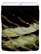 Night Streamers Duvet Cover