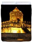Night Temple Duvet Cover