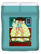 Chihuahua - Night Watch Duvet Cover