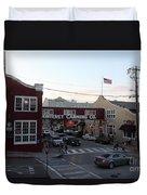 Nightfall Over Monterey Cannery Row California 5d25146 Duvet Cover