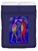 Nightly Kiss Duvet Cover