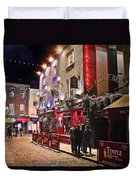 Nights In The Temple Bar Duvet Cover