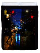 Nights Reflect  Duvet Cover