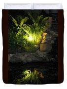 Nighttime Reflection Duvet Cover