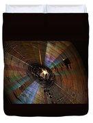 Nighttime Spider Web Duvet Cover