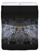 Nighttime Water Tumble Duvet Cover