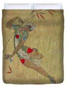 Nijinsky In 'le Festin/ L'oiseau D'or' Duvet Cover