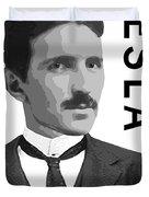 Nikola Tesla 2 Duvet Cover