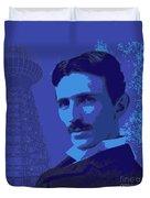 Nikola Tesla #2 Duvet Cover
