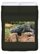 Nile Crocodile Duvet Cover