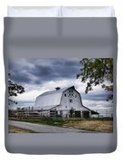 Nine Patch Quilt Barn Duvet Cover