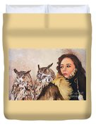 Nine Stars Woman / Wise Counsel Duvet Cover
