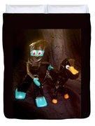 Ninja Gumby And Ninja Pokey Duvet Cover