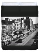 Ninth Street In Brooklyn Duvet Cover