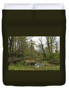 Nisqually National Wildlife Refuge/ Boardwalk Duvet Cover