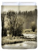 Nisqually Tide Pools Duvet Cover