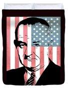 Lyndon Johnson Duvet Cover