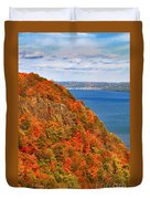 N.j. Palisades Awesome Autumn  Duvet Cover