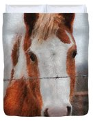 No Fences Duvet Cover
