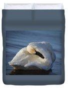 Swan Tuck Duvet Cover