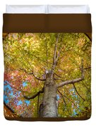 Through The Roof Duvet Cover