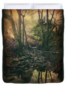 No Matter How Far Duvet Cover by Laurie Search