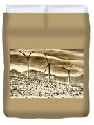 No Place Like Home 3 Palm Springs Duvet Cover