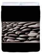 No Stone Unturned Duvet Cover