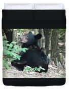 Bear - Cubs - Mother Nursing Duvet Cover