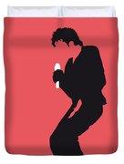 No032 My Michael Jackson Minimal Music Poster Duvet Cover