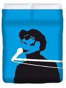 No039 My Stevie Wonder Minimal Music Poster Duvet Cover