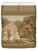 No.0735 A Country Churchyard, C.1797-98 Duvet Cover