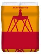 No081 My Star Trek 1 Minimal Movie Poster Duvet Cover by Chungkong Art