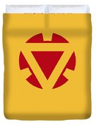 No113 My Iron Man Minimal Movie Posterno113-2 My Iron Man 2 Minimal Movie Poster Duvet Cover
