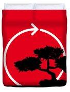 No125 My Karate Kid Minimal Movie Poster Duvet Cover