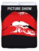 No153 My The Rocky Horror Picture Show Minimal Movie Poster Duvet Cover by Chungkong Art