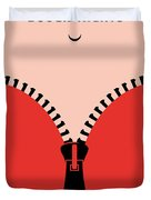 No167 My Boogie Nights Minimal Movie Poster Duvet Cover
