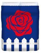 No170 My Blue Velvet Minimal Movie Poster Duvet Cover